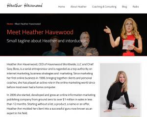 Heather Havenwood screenshot