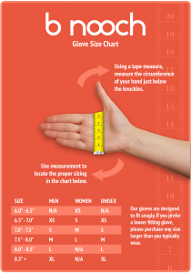 Glove Chart