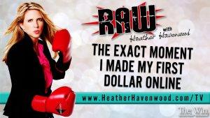 RAWHH16 First Dollar The Win Heather Havenwood