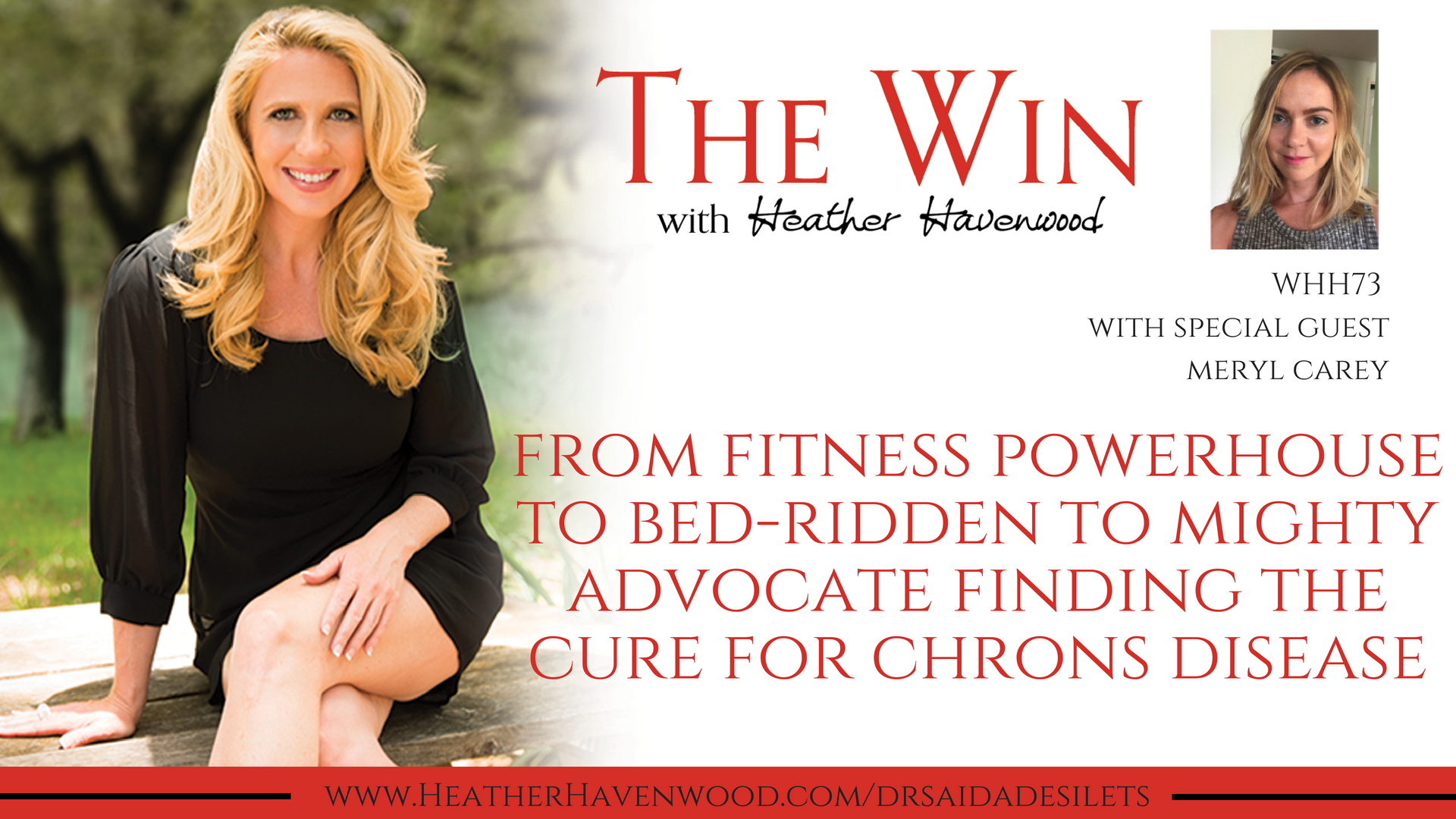 From Fitness Powerhouse to Bed ridden to Mighty Advocate to Find the Cure of Crohns Disease