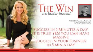 Success in 5 Minutes a Day - Karen Briscoe
