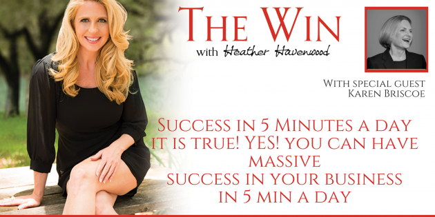Success in 5 Minutes a Day - Karen Briscoe
