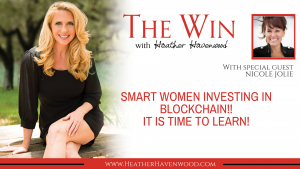 women investing blockchain