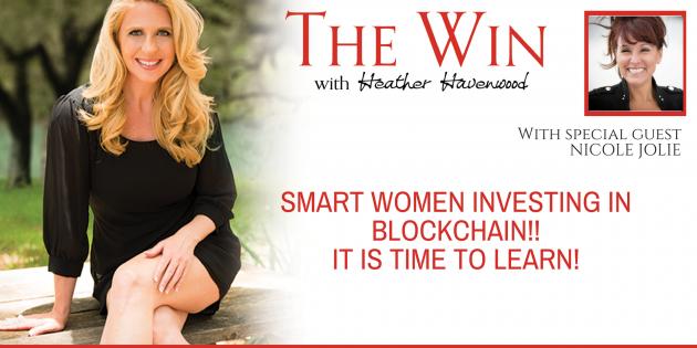 women investing blockchain