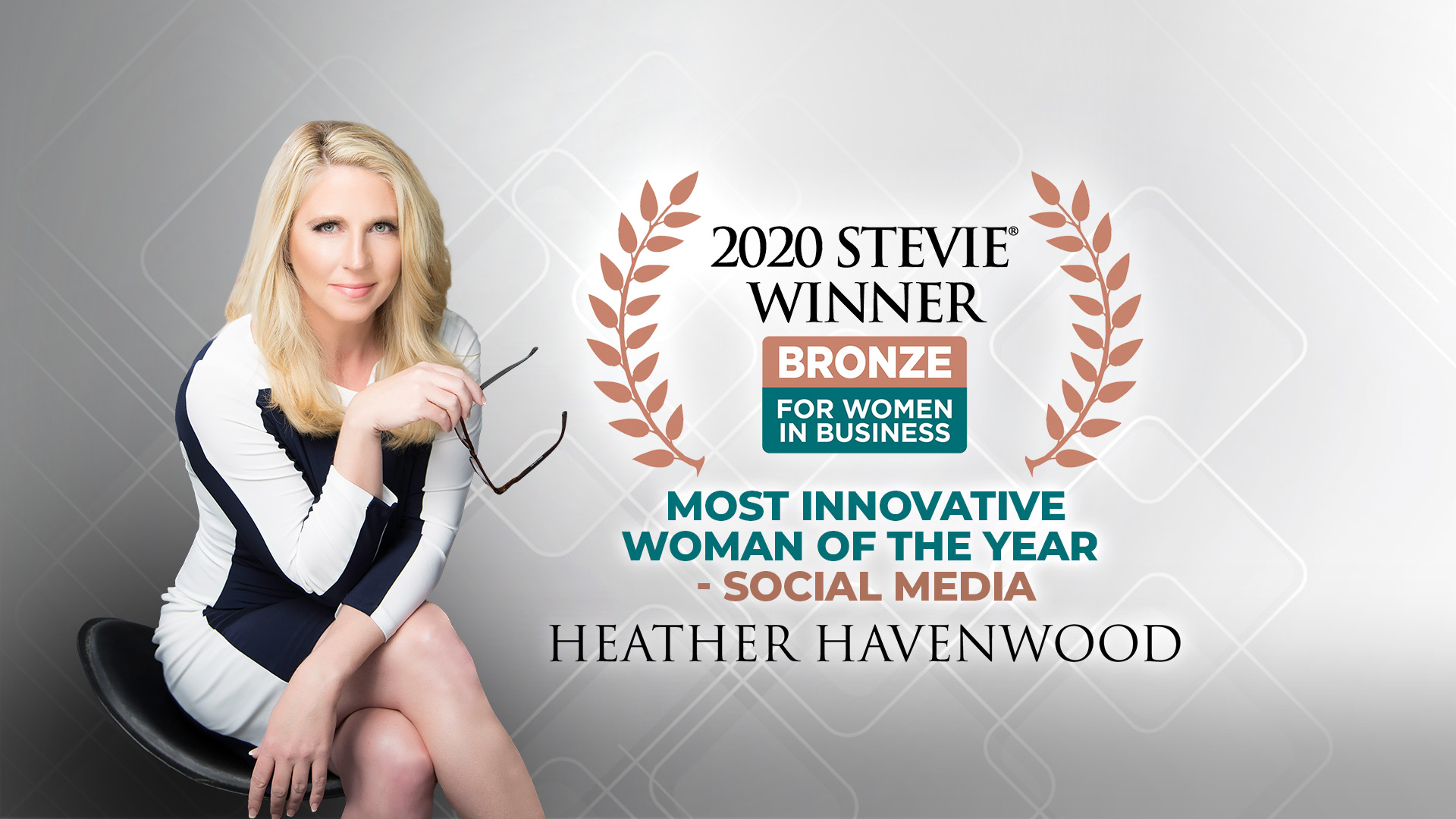 Heather Havenwood Stevie Award Most Innovative Woman of the Year 2020